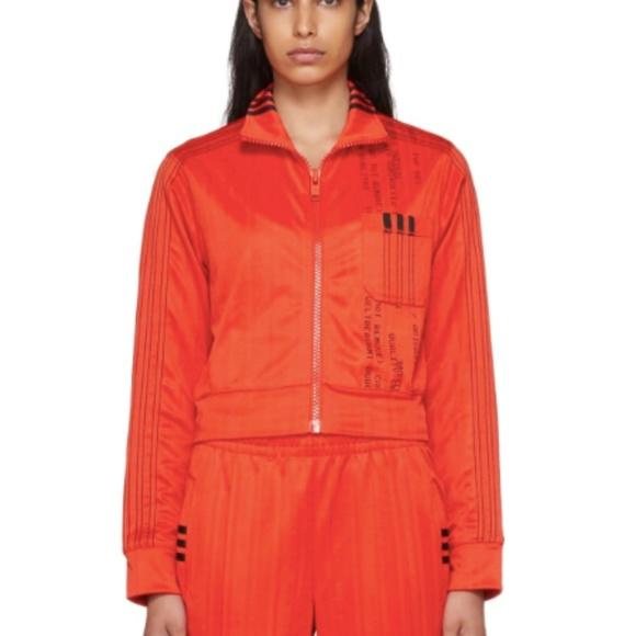 2b0a68f7037 Alexander Wang Jackets & Coats | Adidas X Red Crop Track Jacket ...